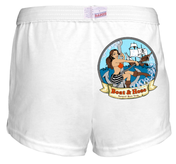 Sea Vixen Shorts Back